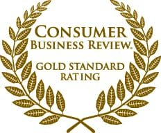 Consumer Business Review Gold Standard Rating Logo